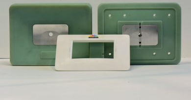 Particolari estetico-funzionali realizzati con stampi  da tecnologia additiva