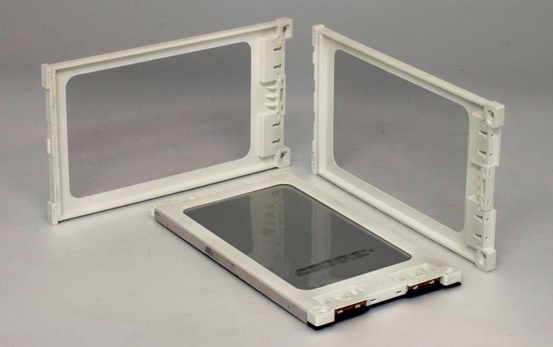 5. Contenitori di celle di tipo pouch realizzati da CRP Technology in stampa 3D professionale e Windform® FR2 per test a banco e su strada.