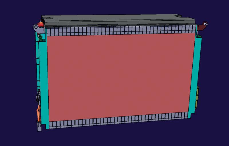 8. Pacco batteria prototipale pronto per test.