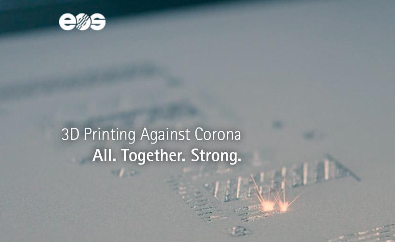 L'iniziativa EOS basata sulla piattaforma aperta 3Dprint against Corona è in grado di offrire dati pertinenti, progetti di grande impatto e preziosi file da scaricare gratuitamente, pronti per la stampa.