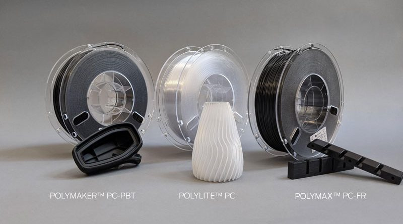 Materiali in policarbonato per stampanti 3D con camera riscaldata