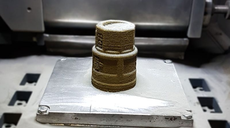 Con 3D4BRASS a tecnologia Powder Bed Fusion (PBF) è possibile produrre direttamente ottone senza utilizzare altri materiali.