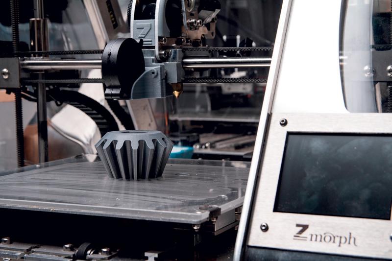 Circa l'80% delle aziende ha affermato di utilizzare la stampa 3D nella produzione.