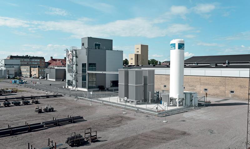 L'impianto di polveri di titanio Sandvik è stato inaugurato a fine 2019.