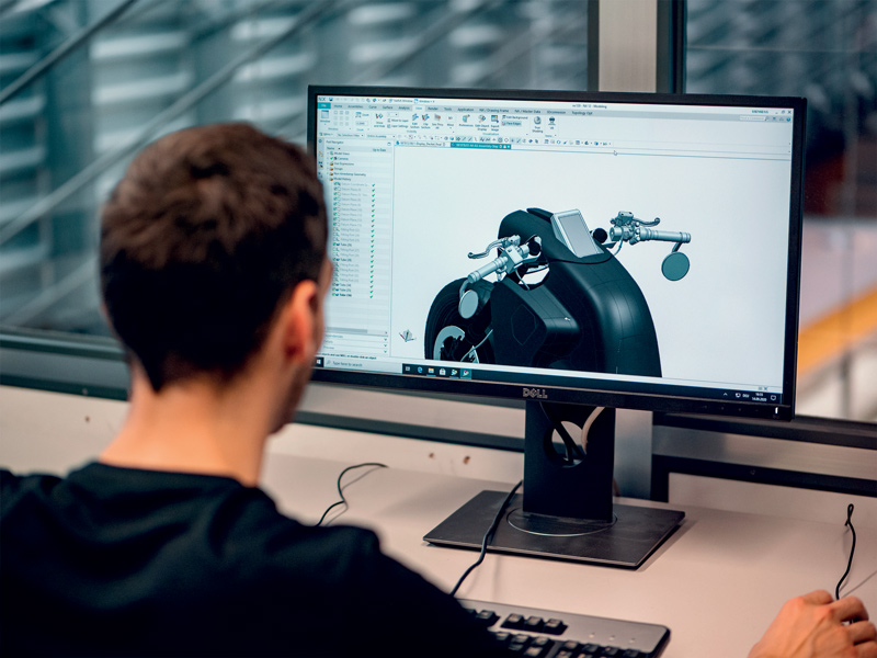 Il progetto ETHEC city ha sviluppato un prototipo di ricerca per l'evoluzione dei veicoli elettrici.