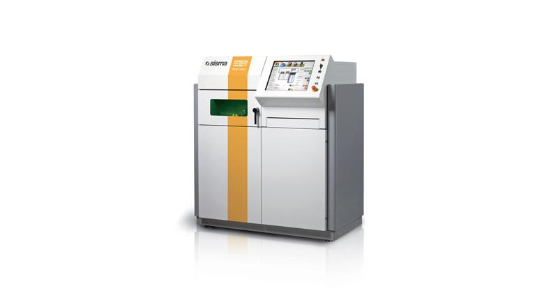 MYSINT100 è una stampante laser 3D a polveri metalliche di SISMA