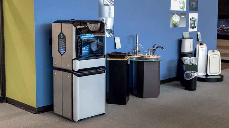 La J55 di Priority Design è silenziosa, un'autentica stampante da ufficio indicata per gli studi di progettazione.