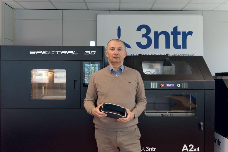 Davide Ardizzoia, CEO 3ntr.