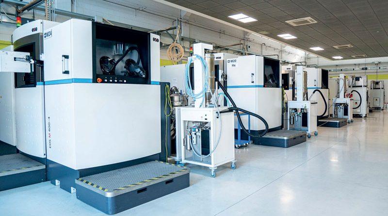 Impianto macchine BEAMIT - Rubbiano (PR).