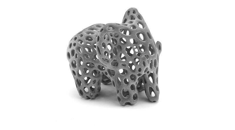 Stampe in 3D anche in Nylon PA12 rinforzato vetro