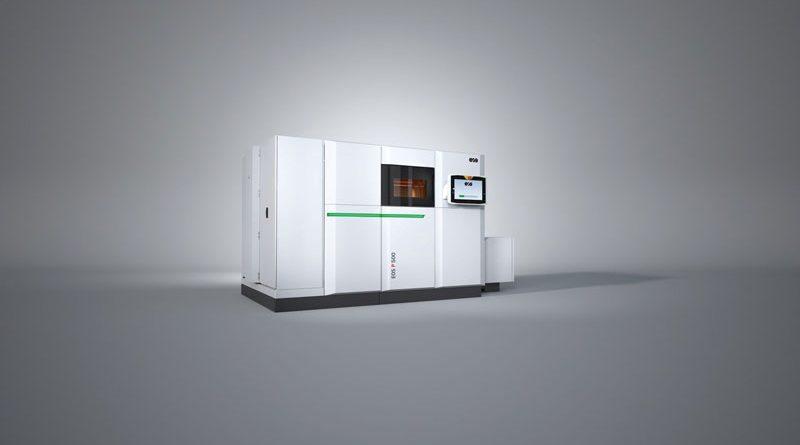 Stampante 3D per polimeri EOS P 500.