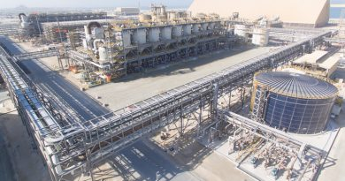 Al Taweelah alumina refinery enters final stages of commissioning
