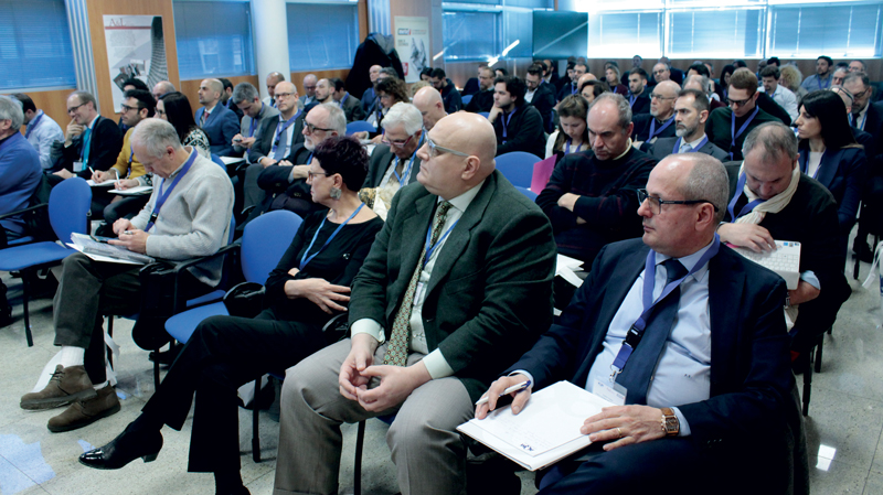 The audience  of the congress, attended by more than one hundred participants
