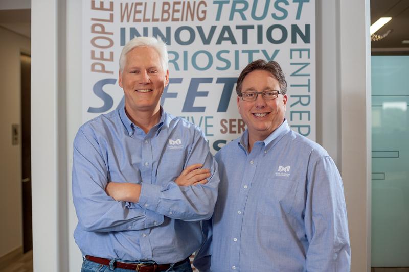 Da sinistra: Rick Merluzzi, CEO, Metal Exchange Corp., e Mike Lefton, Executive Chairman, Metal Exchange Corp.