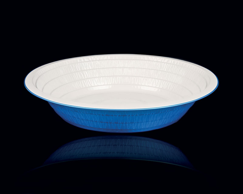 An example of the products in Contital's range of disposable plates