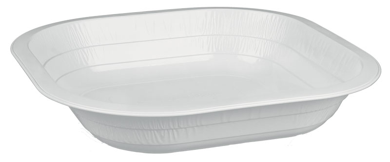 La particolare laccatura superficiale dei piatti Contital permette di utilizzarli anche nel forno a microonde