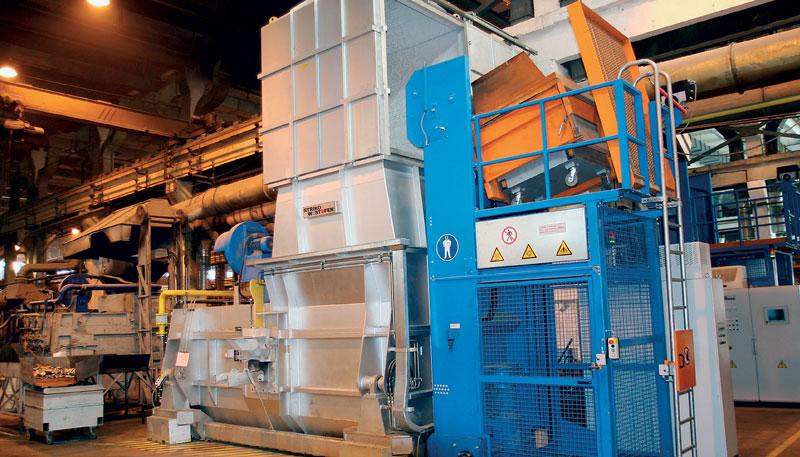 StrikoWestofen StrikoMelter melting and holding furnace Forno fusorio StrikoMelter di StrikoWestofen