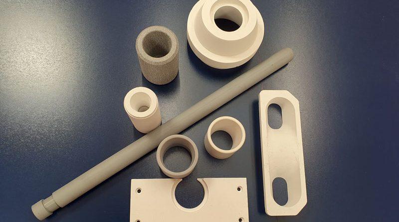 Components and equipment for foundries made of Calcast® / Componenti e attrezzature per fonderie realizzati in Calcast®