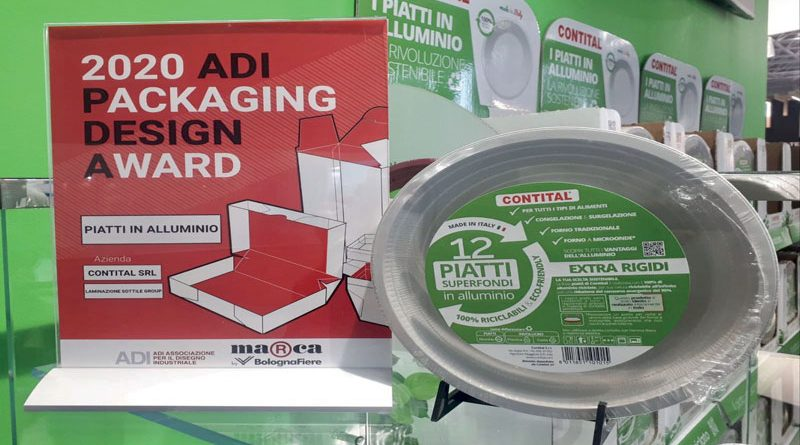 L'alluminio sostituisce la plastica per i piatti monouso