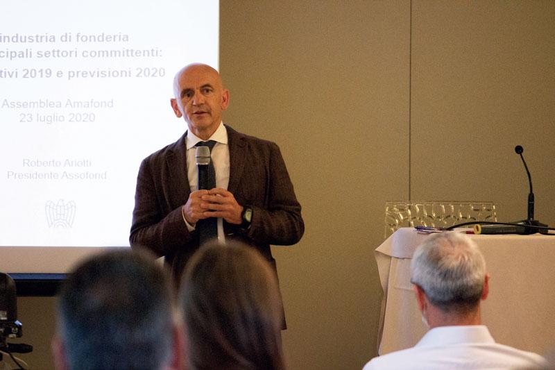 Roberto Ariotti, Presidente di Assofond