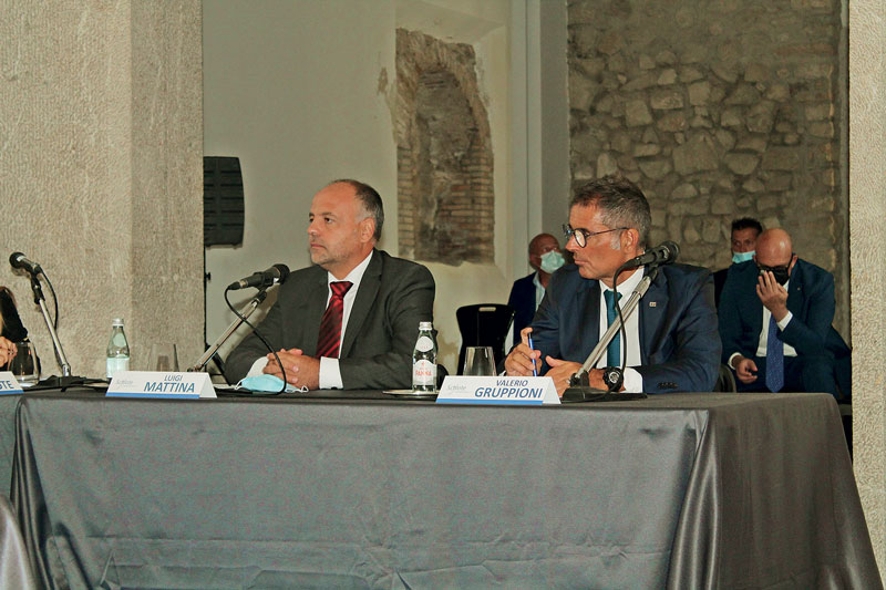 Valerio Gruppioni, presidente di Sira Industrie, con Luigi Mattina, CEO di Bohai Trimet