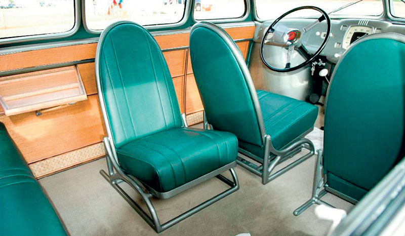 The luxurious modular interiors of Stout Scarab