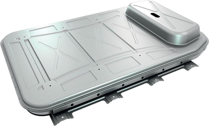 L'involucro batterie prodotto da Novelis