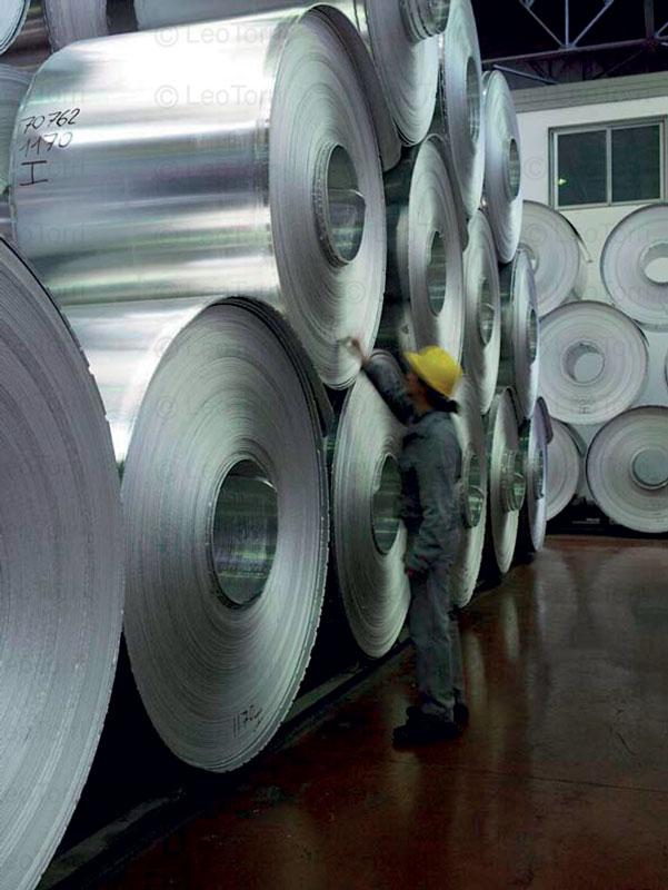 Laminazione a freddo di foglio d'alluminio
