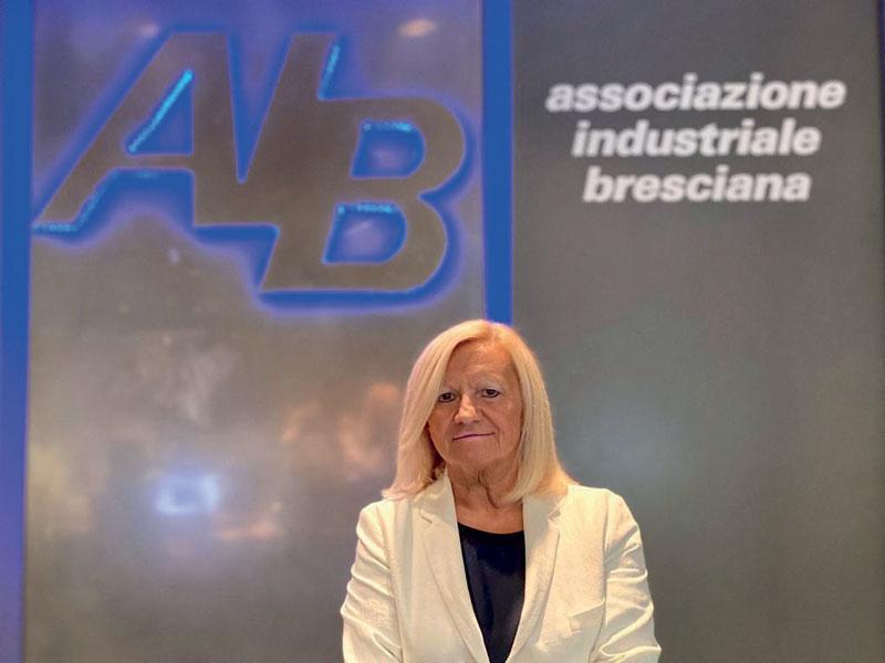Gabriella Pasotti, presidente di settore per la meccanica di Confindustria Brescia