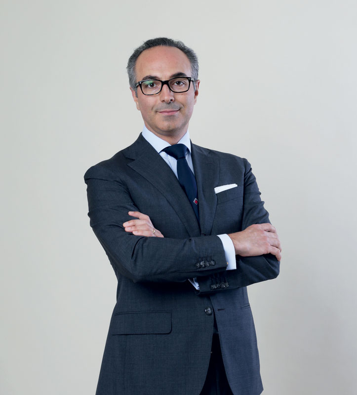 Giovanni Marinoni Martin, sector chairman for Metallurgy, Steel and Mining of Confindustria Brescia