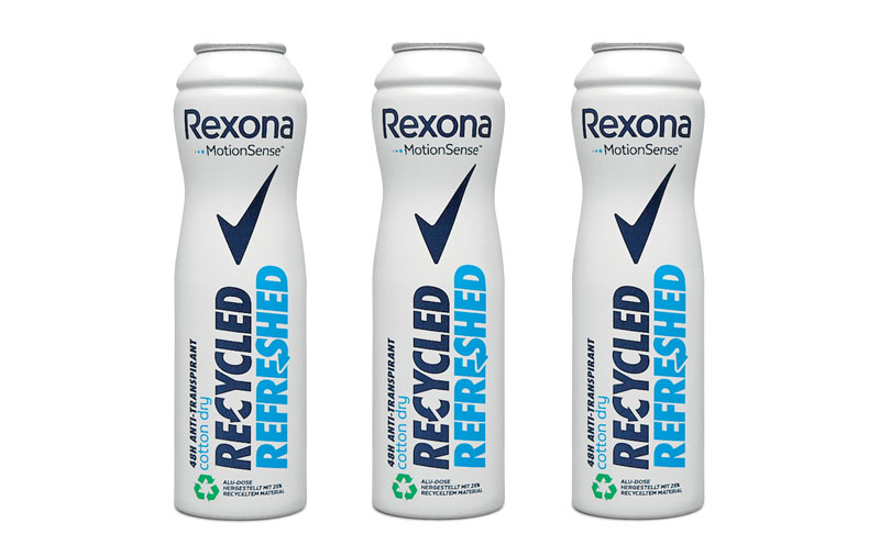 Rexona Recycled Refreshed 24-hour antiperspirant from Unilever, produced by Tubex, is the winner in the newly created category Sustainability