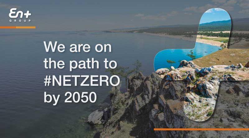 EN+ Group announcing its net zero commitment