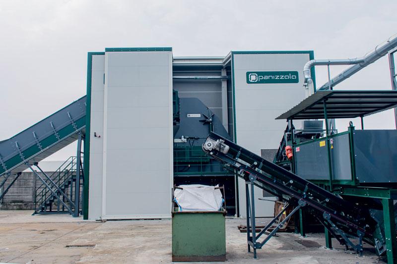 Il nuovo mulino Panizzolo Mega 1100 al termine del commissioning dell'impianto