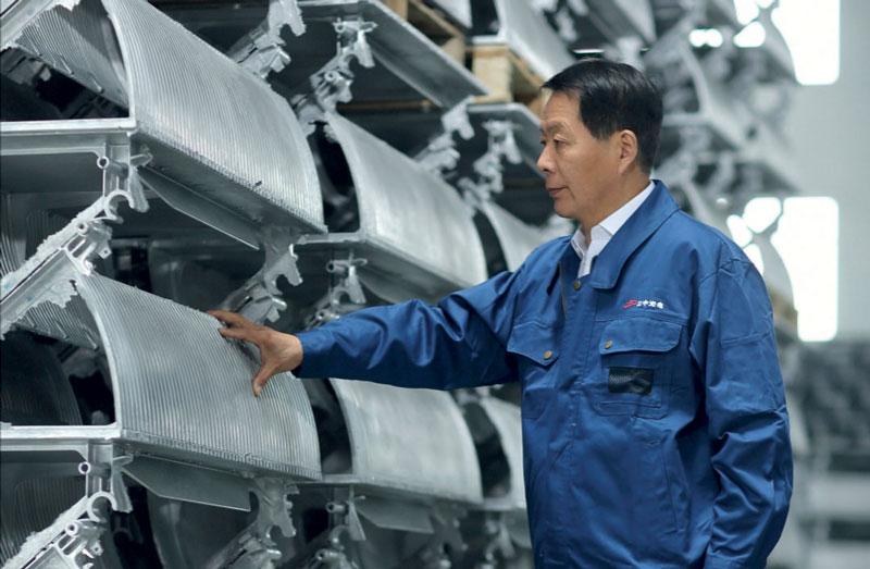 Mr. Yinglong Xu, Chairman of Nantong Jiangzhong Photoelectricity Co. Ltd.