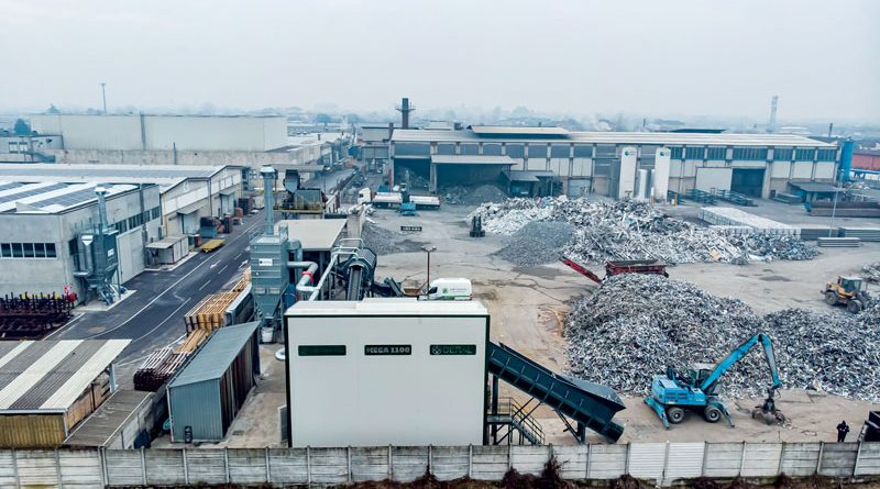 "From Scrap to ""Ready to melt"" Aluminium: new Aluminium Recycling Plant at Deral"