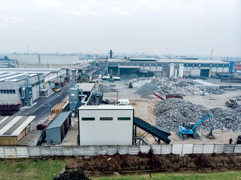 La fonderia Deral di Manerbio (Brescia) con il nuovo impianto Mega 1100