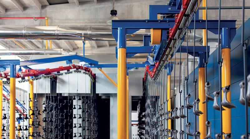 Euroimpianti, ai vertici mondiali nelle linee di verniciatura per alluminio e metalli