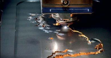 Il piercing con il laser in fibra migliora la produttività di taglio