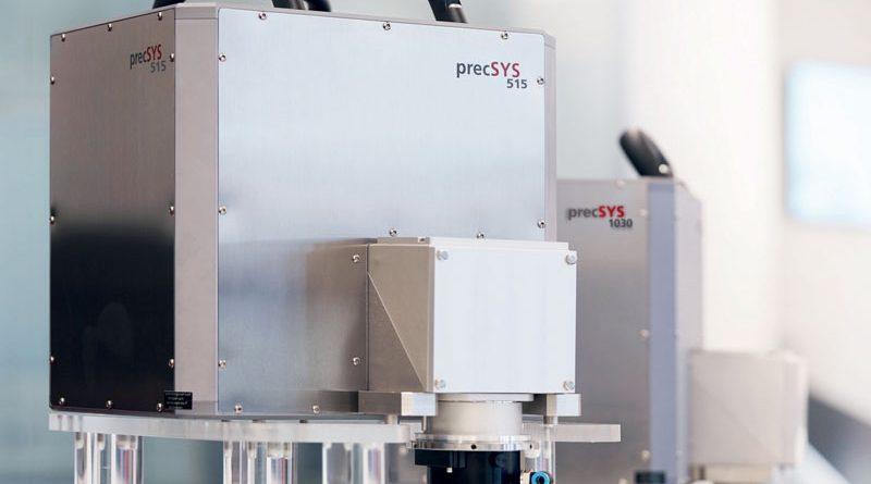 Il laser verde consente strutture più fini