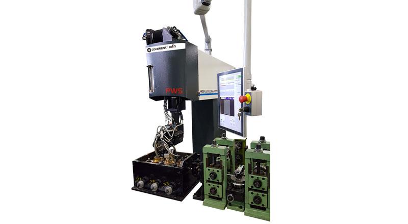 Saldare al laser tubi e profili