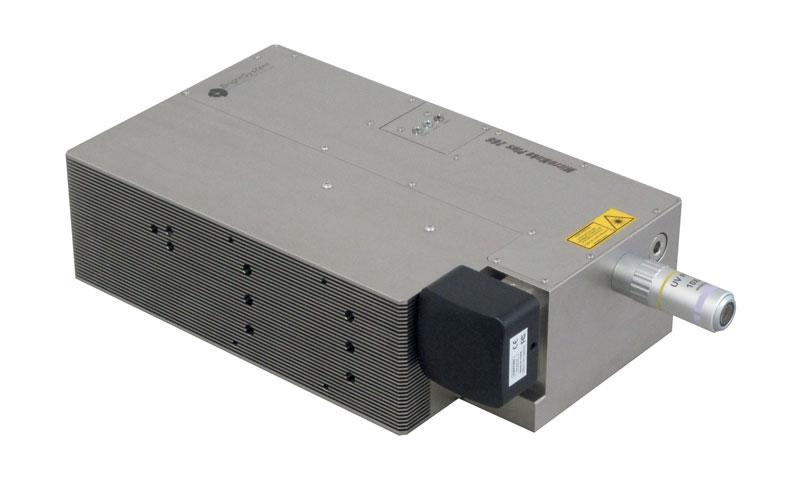 MicroMake Plus 266. Sistema compatto e monolitico particolarmente adatto per microlavorazioni in substrati trasparenti e ceramiche.