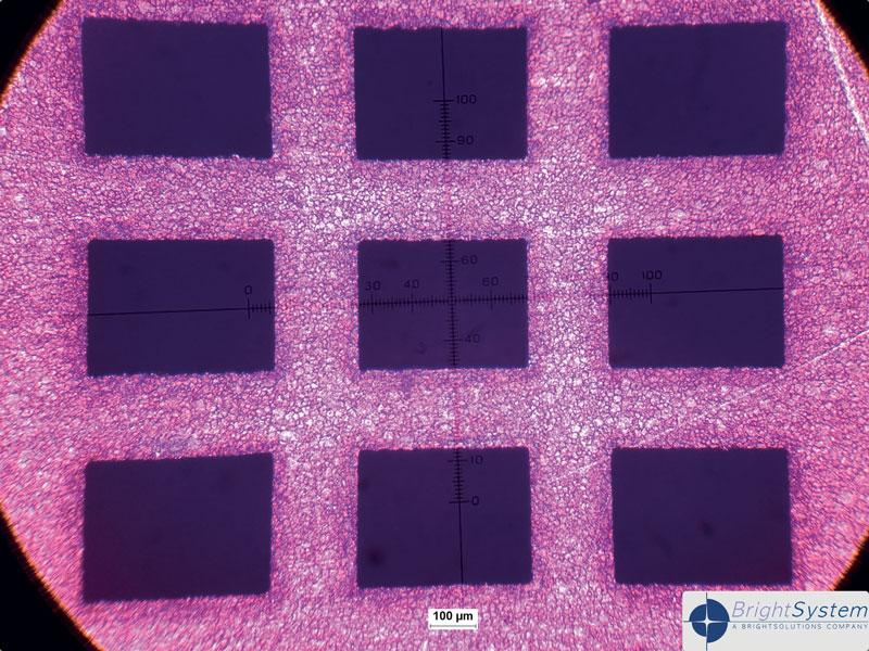 MicroMake ha dimostrato la sua efficacia nella micro-foratura di precisione di diversi materiali, quali per esempio alluminio, ottone, leghe ferro-nichel, acciaio inossidabile.