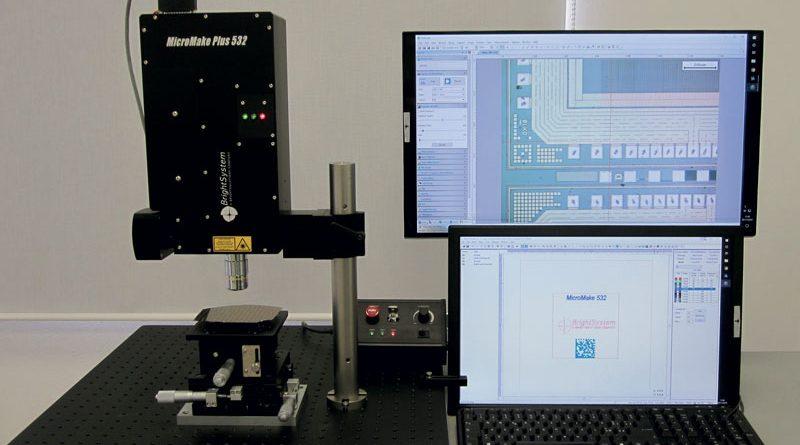 Stazione stand-alone di microlavorazione MicroMake. MicroMake è un sistema integrato Bright System di facile installazione ed utilizzo, pensato per micro-ablazione controllata ad alta risoluzione spaziale.