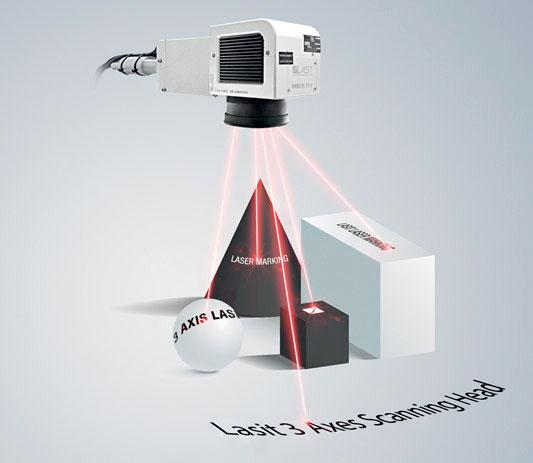 LASIT vanta il primato di essere stata la seconda al ad aver realizzato una testa a tre assi per la marcatura laser.