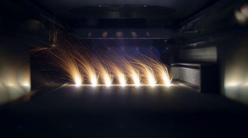 Esempio di tecnologia additive su metallo.