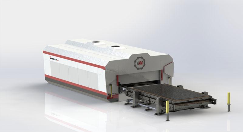 SPEED CUT è in grado di tagliare un'ampia varietà di metalli, tra cui ferro zincato, alluminio, ottone, acciaio inox e acciaio al carbonio.
