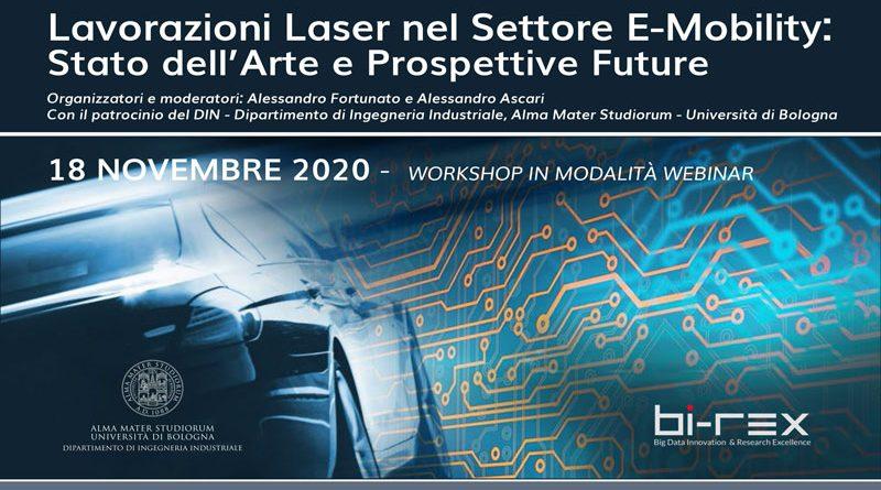 Lavorazioni Laser nel settore E-Mobility