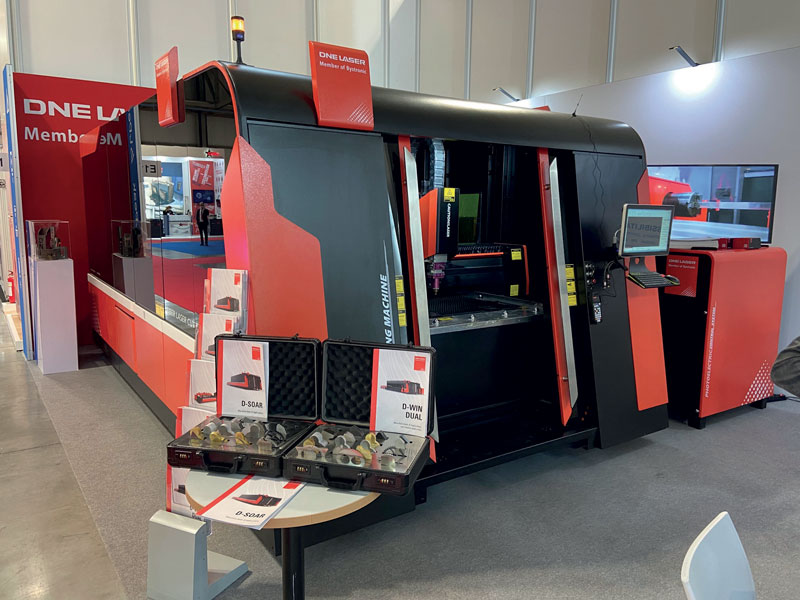 Il sistema di taglio laser D-SOAR esposto a Milano in occasione di BI-MU.