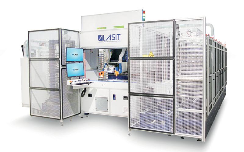 Fly Gantry MAG è la marcatrice laser più grande del mondo ed è targata LASIT.