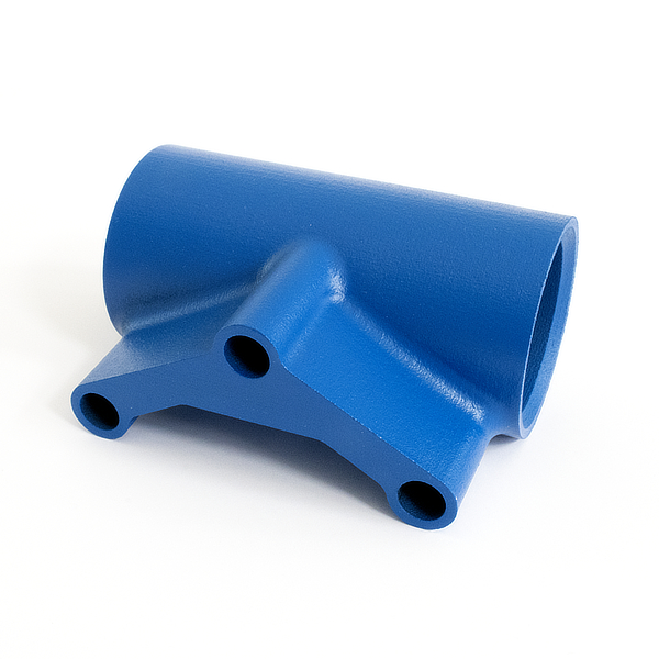 La superficie del polipropilene è più uniforme rispetto a quella degli altri materiali, tanto da sembrare già rifinita appena uscita dalla stampante.
